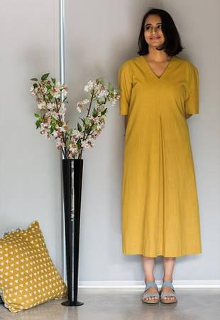 Yellow dress - clothing & accessories - by owner