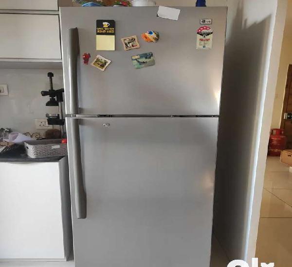 Lg double door fridge 466 ltr