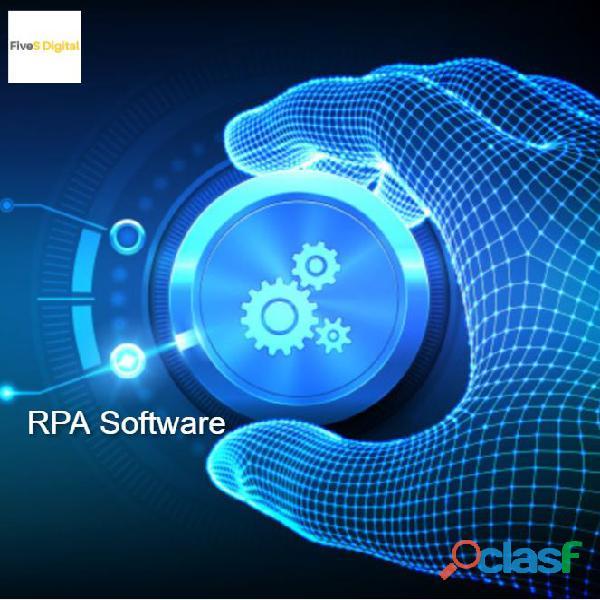 Custom Robotic Process Automation RPA Software   Fivesdigital