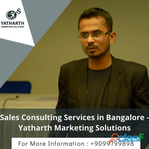 Sales consulting services in bangalore   yatharth marketing solutions
