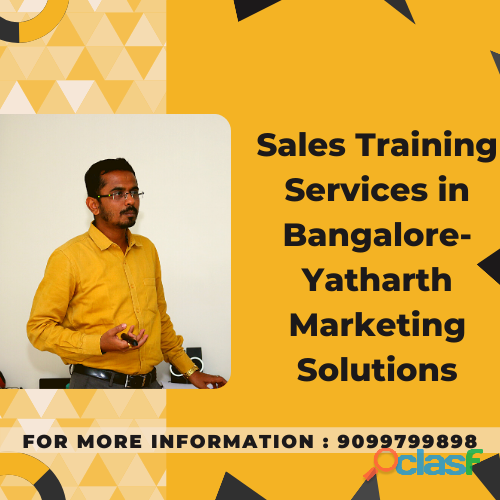 Sales training services in bangalore   yatharth marketing solutions