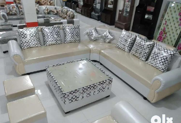 P brand new heavy 9 seater corner sofa set(fix price)