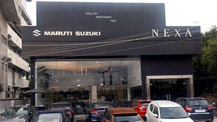 Nexa car showroom at kk nagar in madurai - asir automobiles