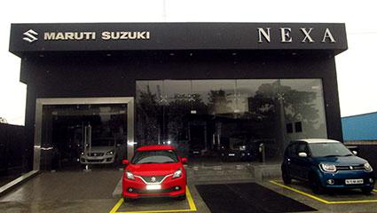 Nexa car showroom at vannarapettai in tirunelveli - aadhi