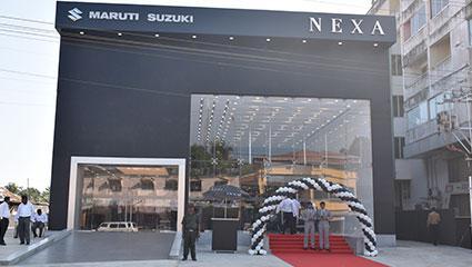 Nexa car showroom in kadiyali, udupi - abharan motors