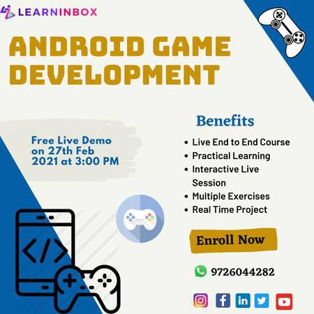 Android game development course - lessons & tutoring