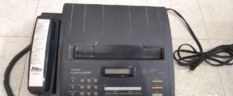 Brother intellifax 650m(fax machine)