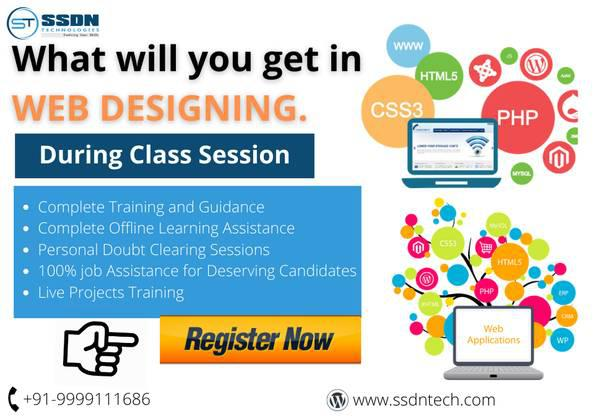 Web designing training in gurgaon - computer services