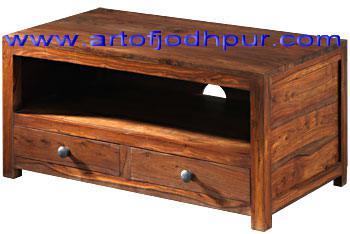 Wood furniture online tv units