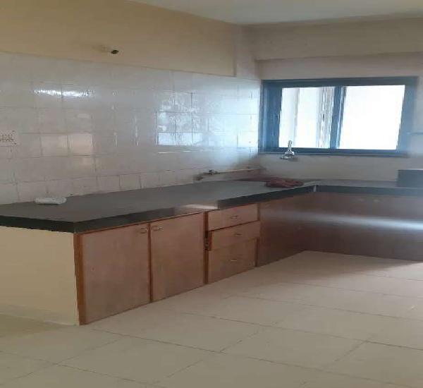 Beautiful 3 bhk semi furnished flat near indira circle,