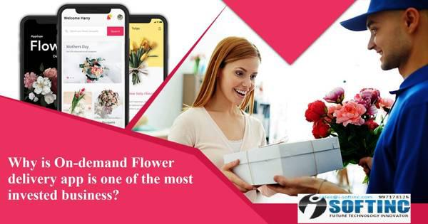Online flower and gift delivery app - computer services