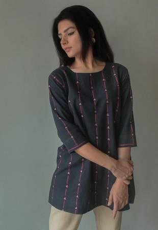 Charcoal tunic - clothing & accessories - by owner