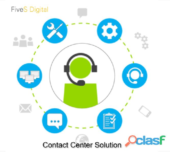 Get 24*7 Contact Center Solution   FiveSdigital