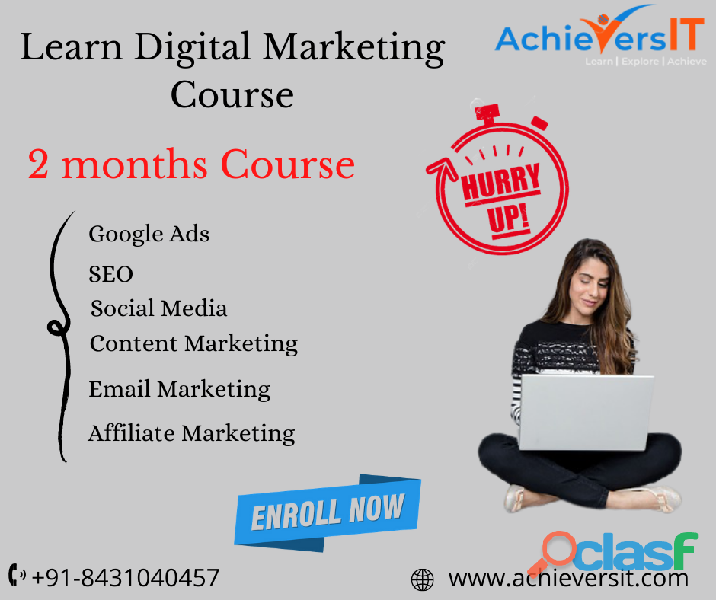 Digital marketing training course   achieversit