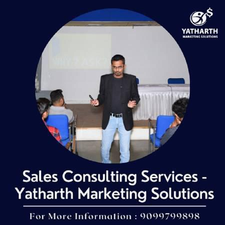 Sales consulting services - yatharth marketing solutions -