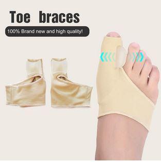 2pcs/pair comfortable soft bunion protector toe straightener