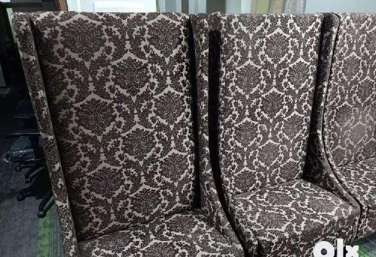 High back sofa chairs