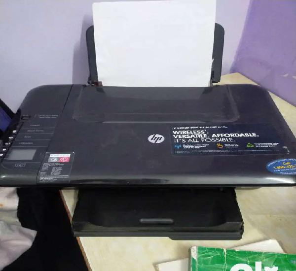 Hp wireless printer with new cartridge