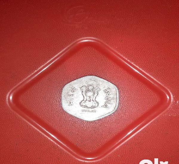 Old 20 paisa of coin of 1983