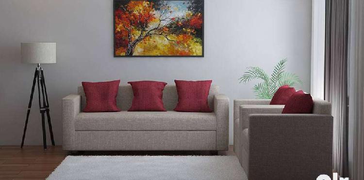 Sofa fabric 3+1+1 seater