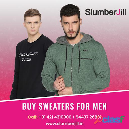 Buy sweaters & sweatshirts for men – slumberjill.in