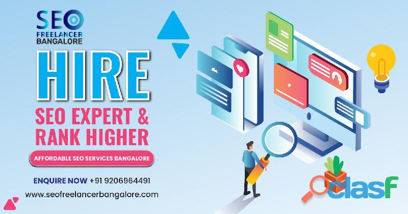Seo freelancer in bangalore   roi based seo services