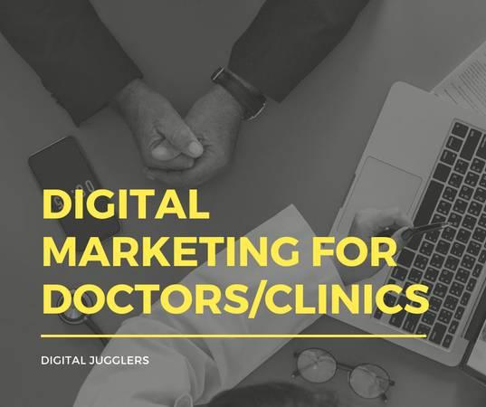 Digital marketing for doctors/clinics - computer services