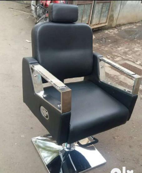 High back black beautyparlor salon chair only imported