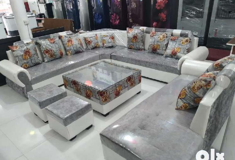 P brand new heavy 12 seater corner sofa set(fix price)