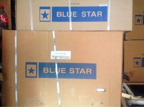 Blue star 15 ton 5 star inverter split ac 20500