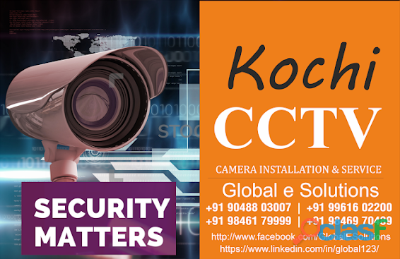 CCTV CAMERA DEALER & SYSTEM INTEGRATORS, KOCHI, ERNAKULAM, KERALA