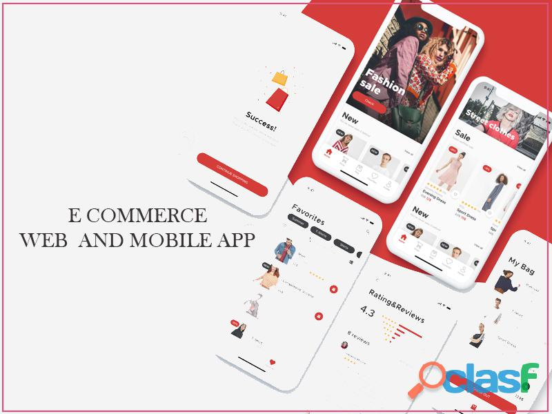 E commerce Web and Mobile App