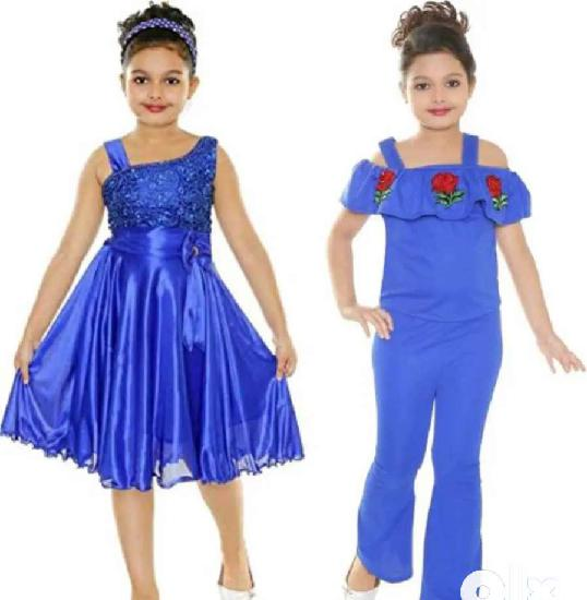 Girls party wear dress pack of 2