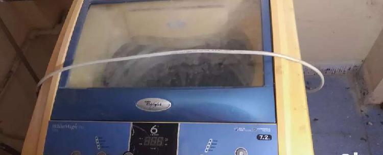 Whirlpool washing machine 7.2 kg top load . full working