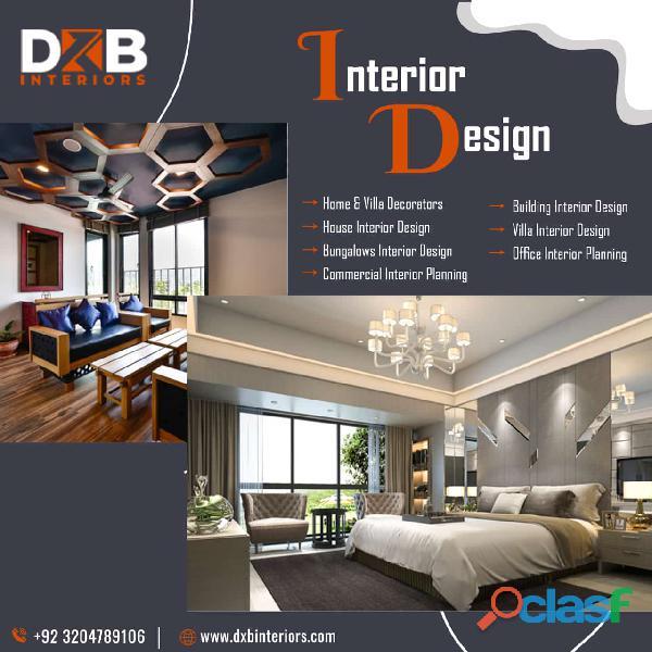Book Leading Interior Design Company in Lahore, Islamabad