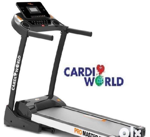 Promaster ai treadmill cardio world brand