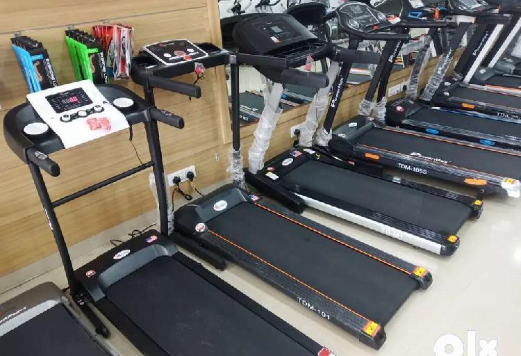 Motorised treadmill for user weight upto 90kg