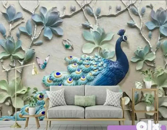 Hina decors 4d wallpapers