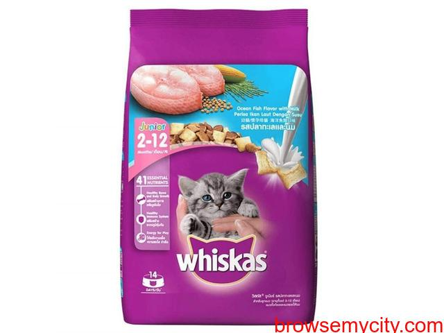 Buy whiskas junior ocean fish dry kitten food (3 kg), at