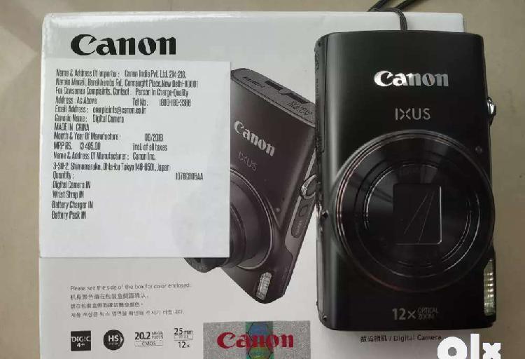 Canon 12x ,20.2 mega pixels hd digital camera in mint
