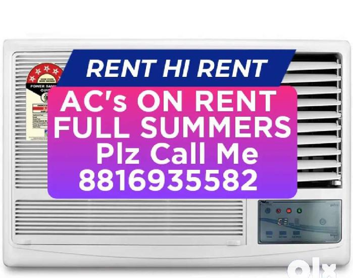 Rental window ac's available here