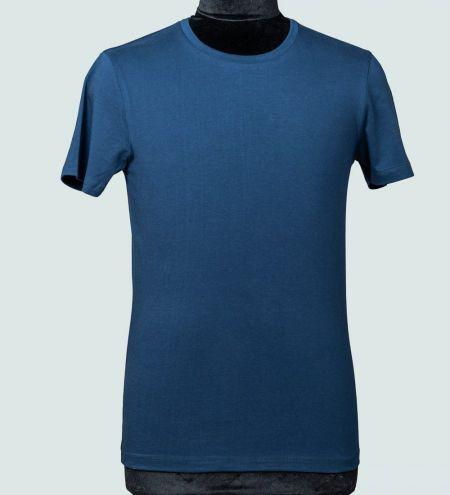 Supima cotton round neck t shirts