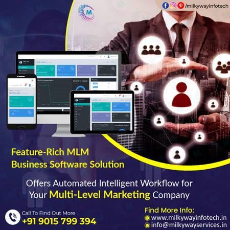 Milkyway infotech multi level marketing company in noida -