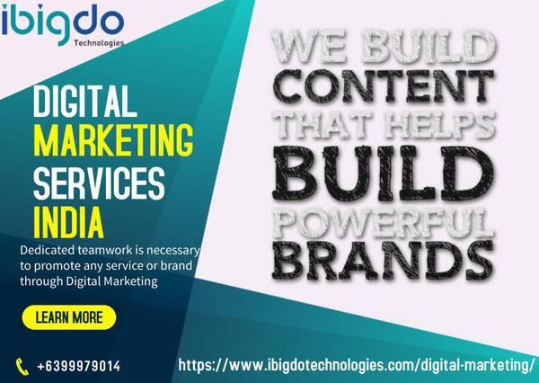 Digital marketing services india   ibigdo technologies -