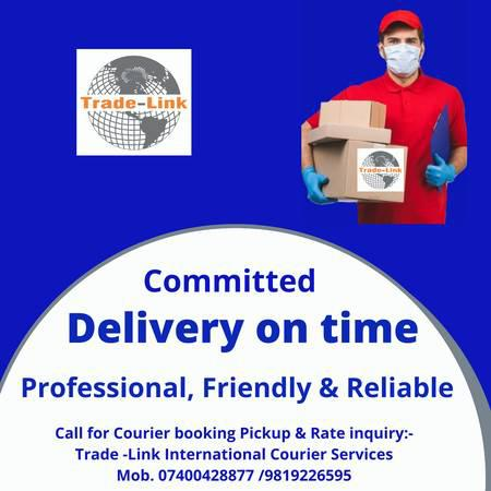 International and domestic parcel delivery services in india