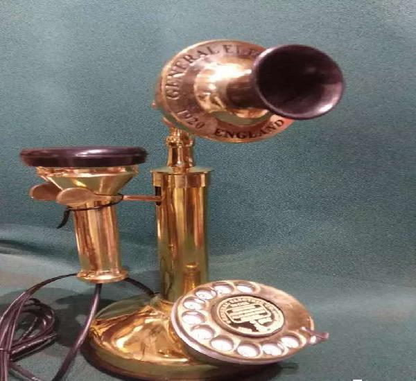 Vintage style repro phone mouth piece and speaker both
