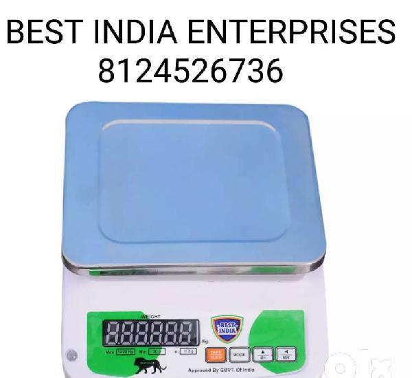 Lowest price best india weighing machine with one year