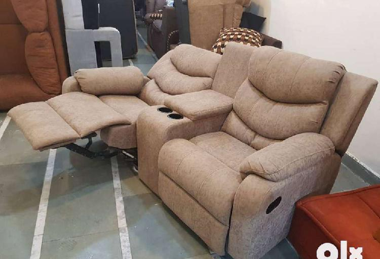 Two seater recliner sofa by iris furniture