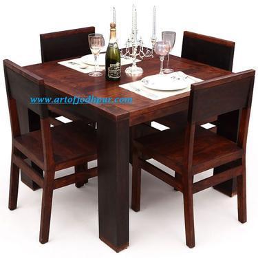 Furniture online dining sets solid wood sheesham