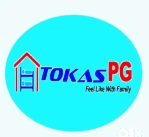 Tokas pg boys/girls nr dwarkamormetrostation with/without 3